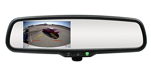 Rostra 250-8208-TL 4.3' LCD Mirror Monitor for Chrysler/Dodge/Jeep/Ram/Ford/Lincoln Vehicles Rostra Precision Controls Inc.(Automotive)