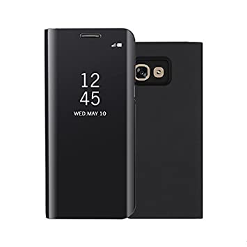 Funda® Espejo Enchapado Flip Funda para Samsung Galaxy A5(2017 ...