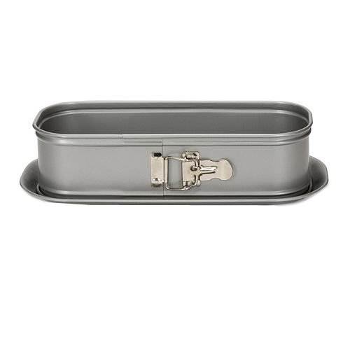 Patisse 03511 loaf springform pan with Leakproof Base, 11-3/4'' (30 cm), Silver Gray Metallic Color
