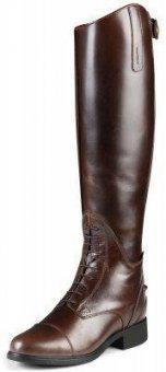ARIAT Damen Reitstiefel BROMONT Tall H2O Stiefel, chocolate (braun), 4 (37), Höhe:45cm/Wade:36cm