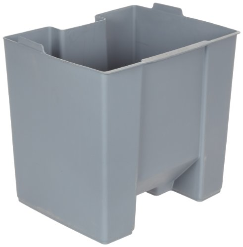 Rubbermaid Commercial FG624500GRAY Rigid Liner for Rubbermaid 6145 Step-On Container by Rubbermaid Commercial Products