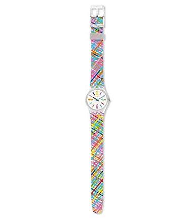 Swatch Silikon Quarz Lk389 Mit Analog Unisex Armband Erwachsene Uhr WI2DYeHE9