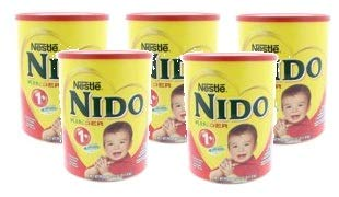 Nestle Nido Kinder 1+ Powdered Milk Beverage 3.52 lb. Canister (Pack of 5) by Nido (Image #6)