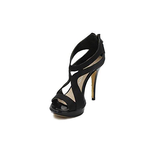35 Sandalo Nero Paula Alto Mendez Giada 1vw5Ufq