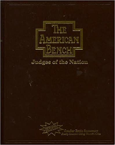Directories Researching Judges Courts LibGuides At American - Almanac of the federal judiciary