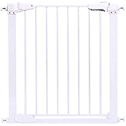 WANNA.U Baby Gate Summer Infant - Stairway and Hallway Pet Gates, Includes Banister and Wall Mounting Kits, Width 65-173cm (Size : Width 132-138cm)