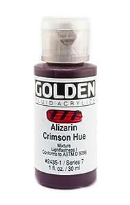 Golden Fluid Acrylics- Colour 24351 Alizarin Crimson Hue