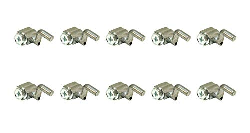 Rotary 10 Pack 14819 Universal Cable Wire Stop Z Bend