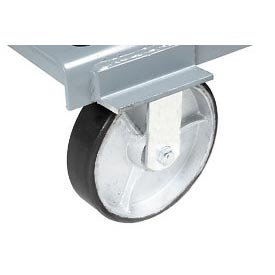 Casters For Mccullough Wright Hoppers - Plastic