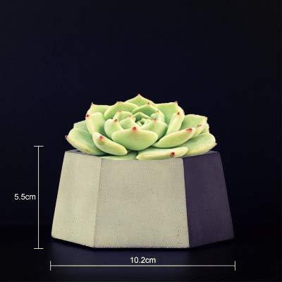 Cactus Planter Best Quality - Clay Molds - Concrete Planter Cactus Cement Silicone Mold DIY Clay Craft Flower Pot Mold Silicone Ceramic Plaster Vase Mould - 1 PCs