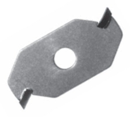 Southeast Tool SL093-2 Carbide-Tipped Slotting Cutter, 2 Wing, Cutter Only, 1-7/8'' Diameter X 5/16'' Bore.093'' Kerf
