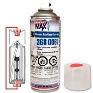 Spray max 1 CASE of (6) CANS USC SPRAYMAX 2K AEROSOL Clear Coat