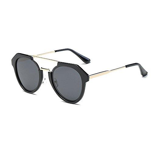 les conduite sole de Protection polarisées de et femmes Lunettes de lunettes bordées soleil soleil hommes pour unisexes Noir lunettes nuances UV les de de lunettes la nouveauté rétro soleil Unique designer xaRRvH