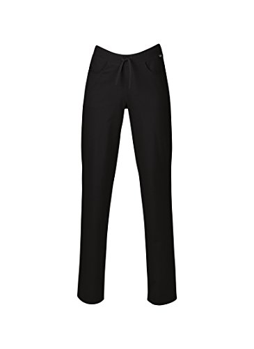 TRIGEMA Pantalon taille basse L, noir