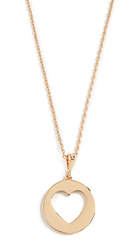 Kate Spade New York Women's Heart Mini Pendant Necklace, Gold, One Size
