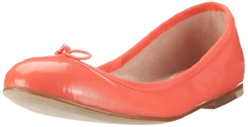 Bloch Patent Ballerina Bl469-lr - Bailarinas de charol para mujer, color amarillo, talla 36 Naranja (Orange (TR-B2-Orange-67))