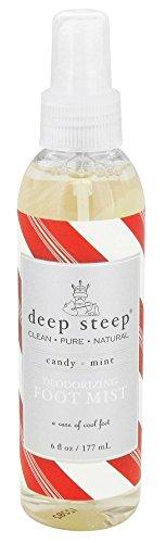 Deep Steep Foot Deod Mist Candy Mint