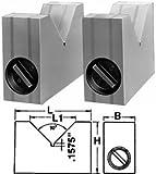 Magnetic V-Blocks,3.2'' X 2'' X 4'' X 2.4''