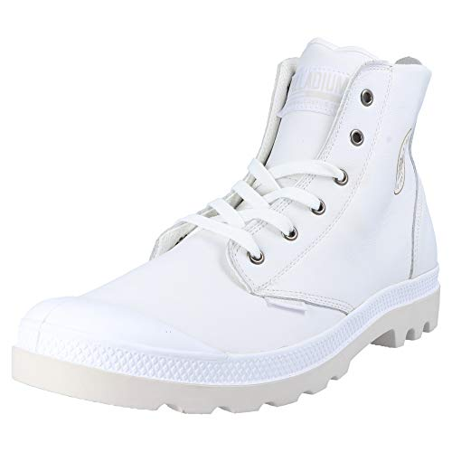 Collo Adulto Unisex a white Alto Sneaker 100 72355 U Palladium Leat Hi Pampa nCxqww4Yz