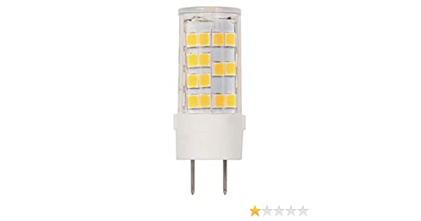 35-Watt Equivalent Westinghouse Lighting 1 Westinghouse 5165000 4.5 G8 Dimmable Clear Bi-Pin Base LED Light Bulb