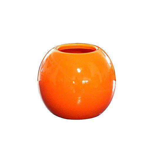 OYJJ Creative Three-Dimensional Spherical Ceramic vase Flower Pot Simple Style Ceramic Flower Pot Wedding Home Accessories -