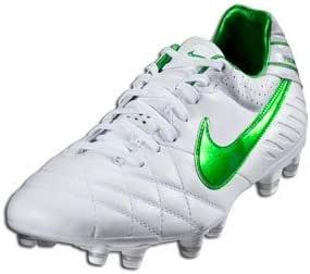 templo Anciano riesgo  Amazon.com | Nike Tiempo Mystic IV FG - White/Court Green/Met | Soccer