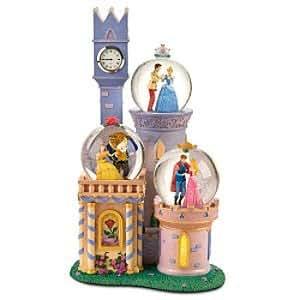 Disney Princess Castle Snowglobe