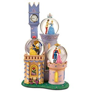 Amazon.com: Disney Princess Castle Snowglobe: Home & Kitchen