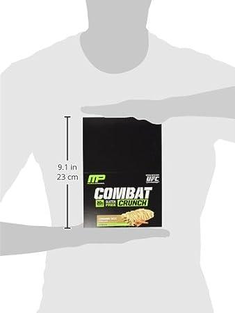 Musclepharm Combat Crunch Bars Cinnamon Twist - 12 Barras: Amazon.es: Salud y cuidado personal