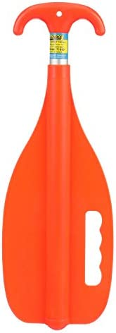 "Seachoice 71090 Emergency Multi-Purpose Telescoping Boat Hook and Paddle, Orange, 18"" to 31"""