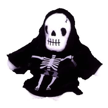 Ty Beanie Babies - Creepers the Skeleton