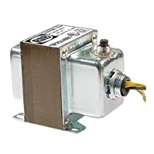 Functional Devices TR75VA001 Transformer, 75Va, 120 to 24 Vac, Circuit Breaker, Foot and Single Threaded Hub Mount