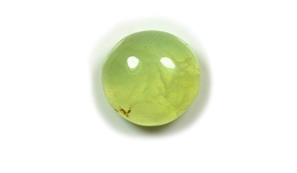 Natural Green Prehnite Rutilated Quartz Top Quality Gemstone Hand Polished Loose Stone Jewellry Making 45cts 30X26X6 mm
