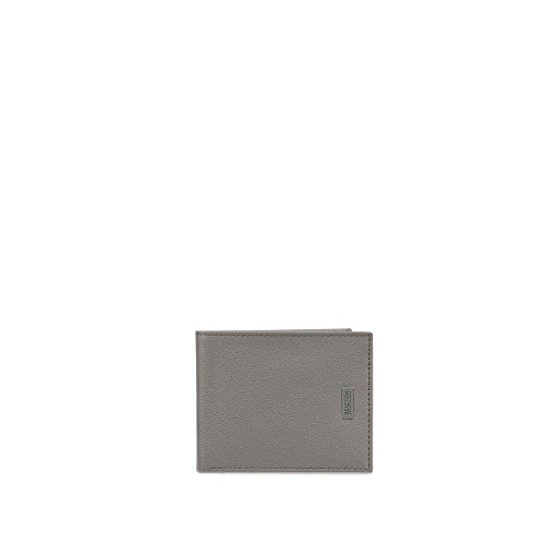 Kenneth Cole REACTION Men's RFID Leather Bifold Wallet, Grey, One (Kenneth Cole Bi Fold Wallet)