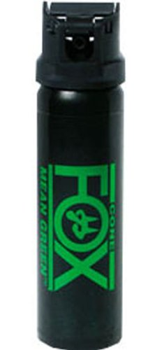 Spray Pepper Fox (Fox Labs Mean-Green 3 Ounce (84 Grams) 6% H2OC Stream Pepper Spray)