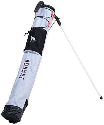 セルフスタンドバッグ メンズ レディース アダバット adabat ゴルフ F(F) シルバー(SI) ab404s