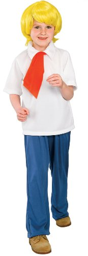 Scooby-Doo Fred Child Costume Size: Small -