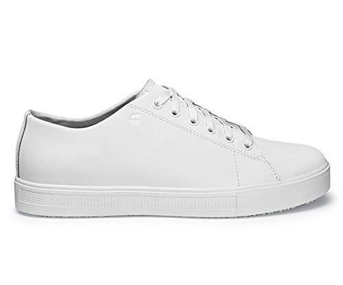 Old Style 8 42 En Rider Size Safety Certified Women's Low School Iii 37280 Resistant White Trainers 8 For Crews Slip Shoes SwXaxpYY