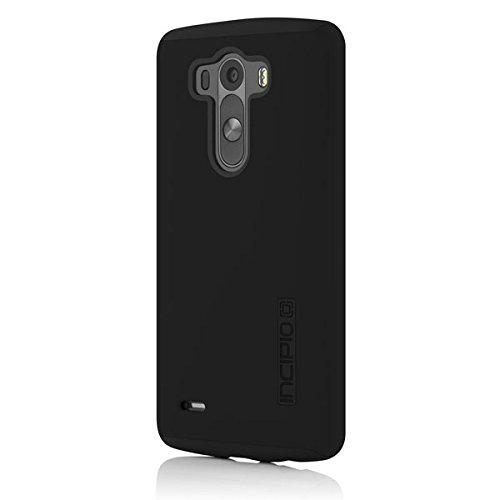 LG G3 Case, Incipio [Shock Absorbing] DualPro Case for LG G3-Black/Black