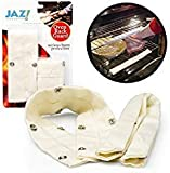 "Oven Rack Guards - Cool Touch by Jaz 18"" Extra Long Oven Rack Guards (Pack of 2)"
