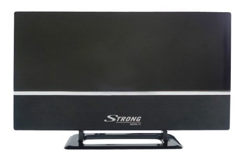 STRONG SRT ANT 30 ECO digitale aktive DVB-T/T2 Zimmerantenne (LTE-Filter, HDTV ready, UHF/VHF, horizontal oder vertikal montierbar)