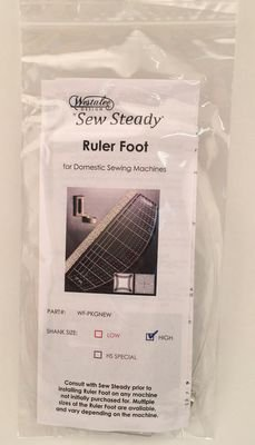 Westalee Sew Steady Ruler Foot Starter Package High Shank by Westalee