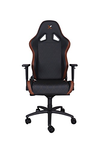 Ferrino XL Brown on Black Gaming and Lifestyle Chair by RapidX For Sale