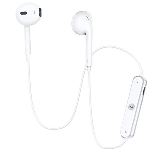 Bluetooth Headphones, Dostyle Wireless Headphones Bluetooth V4.1 Earbuds w/Mic Stereo Earphones Noise Cancelling Sweatproof Sports Headset Compatible for iPhone X Samsung Galaxy S9 and Android Phones.