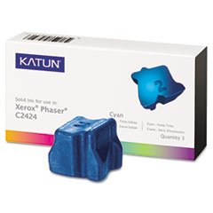 108r00660 Cyan Ink - - KAT37975 C2424 Compatible, 108R00660 Solid Ink, 3400 Yield, 3/Box, Cyan