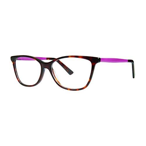 10X246 Women's Eyeglasses- Fashiontabulous Collection Frames - Eyewear by Modern Optical - Tortoise 52-14-140