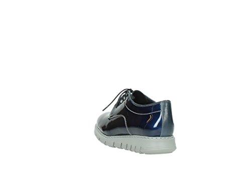 Wolky nbsp;lumière Lacets Blue Jour 60800 Patent Confort Dark Du 05025 Leather À Chaussures UwqOUvtXr