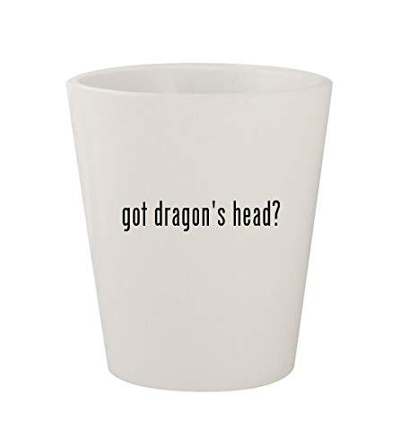got dragon's head? - Ceramic White 1.5oz Shot Glass