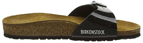 Birkenstock - Madrid, Mules Mujer Negro (Magic Galaxy Black)