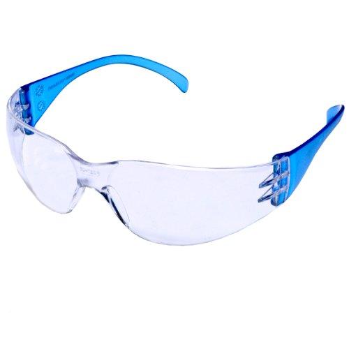 Pyramex Safety Intruder Eyewear, Blue Temples, Clear (Intruder Sunglasses)